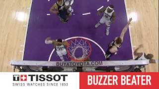 Gobert Beats The Buzzer In OT! | Tissot Buzzer Beater | 03.05.17