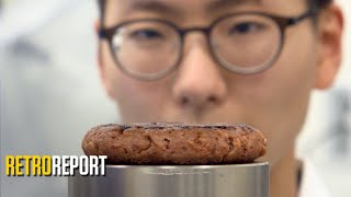 Meatless Burgers Are on Trend. Eating to Save the World Has a Long History. | Retro Report