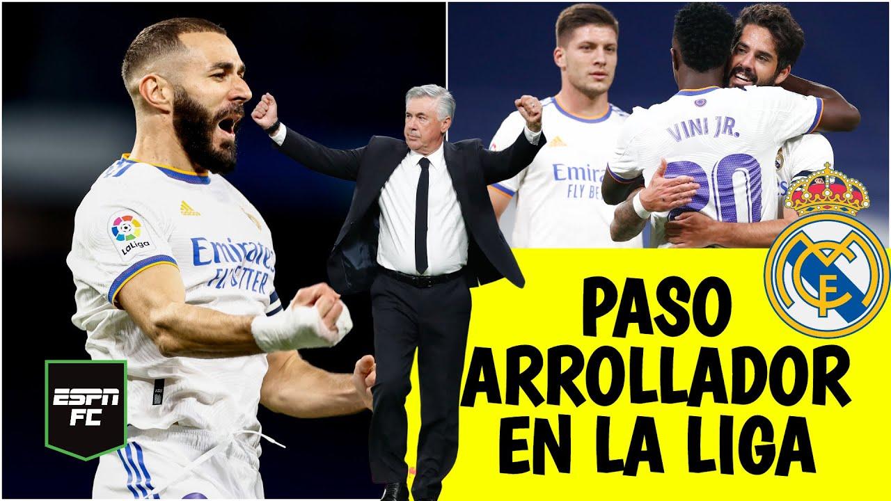 LA LIGA Real Madrid es una APLANADORA gracias a Benzema y Vinicius. ¿Mérito de Ancelotti?