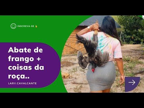 ABATE DE FRANGO + COISAS DA ROÇA.. #OVOS #GALINHAS #FEIJÃO #VERDE