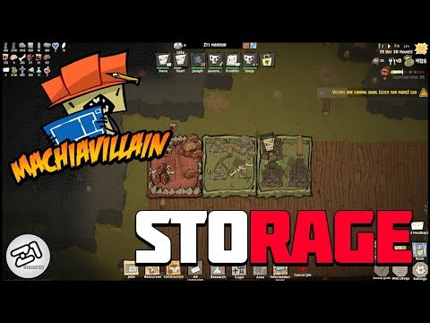MachiaVillain Storage and RESEARCH! MachiaVillain EP2 | Z1 Gaming