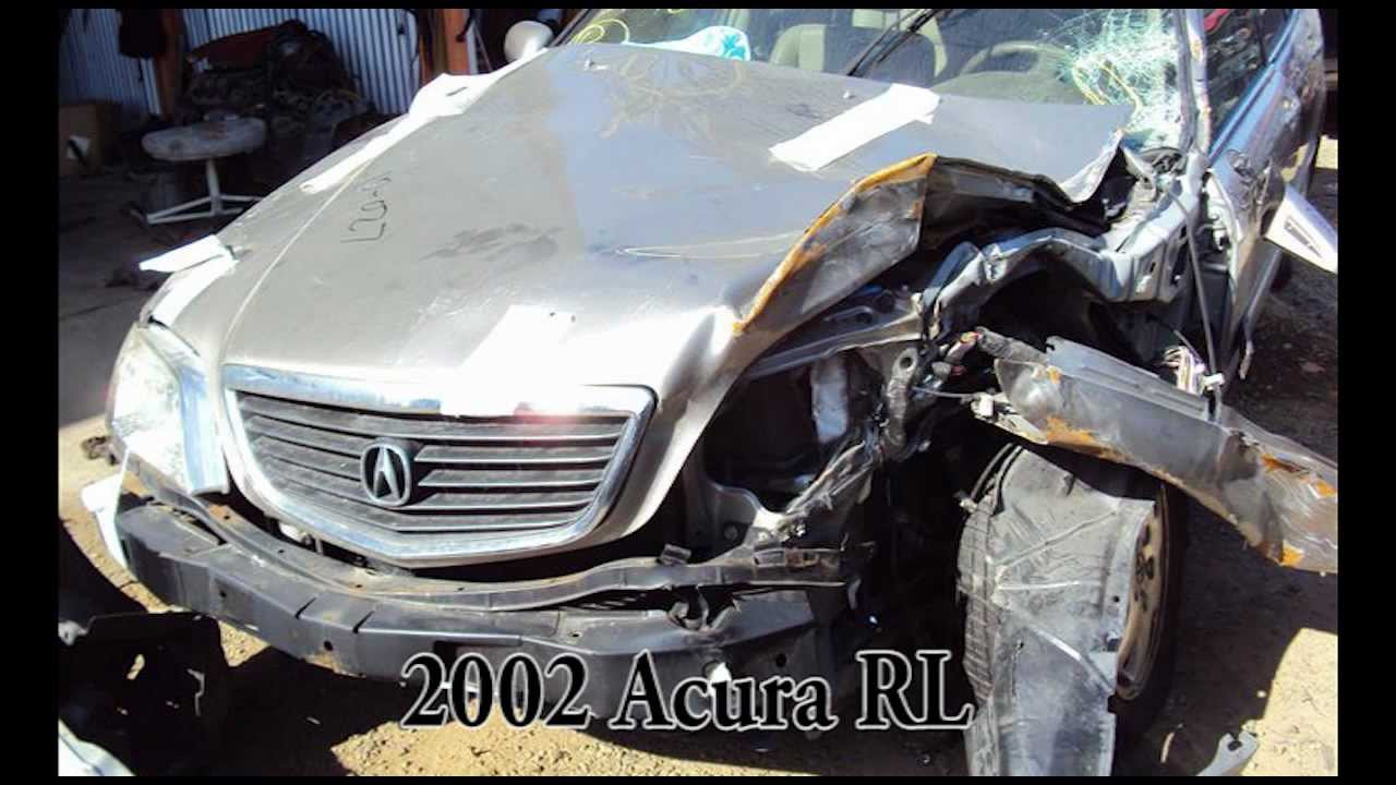 Acura RL Parts AUTO WRECKER RECYCLER Anhdonlinecom Acura Used - Acura rl 2002 parts