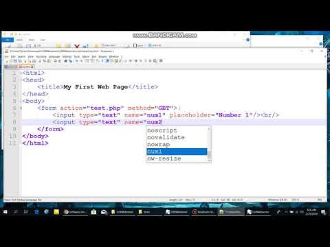 USB Web Server For HTML And PHP
