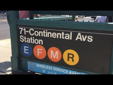 Weekend Service with the E, F, and R Trains!