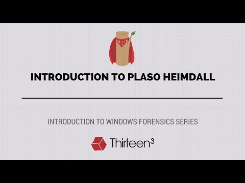 Introduction to Plaso Heimdall - YouTube