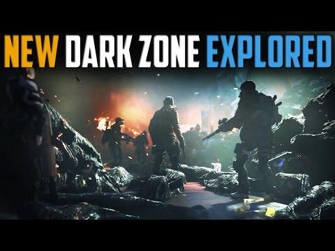 The Division | Detailed Look At The New Dark Zone | DZ07 - DZ09