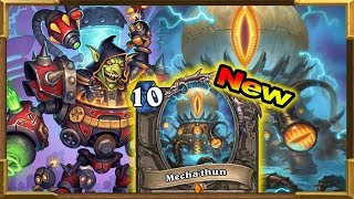 Hearthstone: New Mecha'thun Warrior OTK | Rise of Shadows New Decks