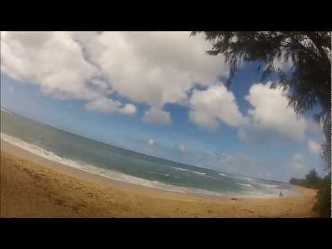 A trip around Oahu, Hawaii, on a couple of Triumphs