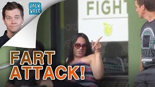 Stoner Transvestite Fart Attack