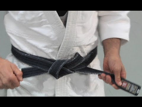 How to Tie Your BJJ or Judo Belt