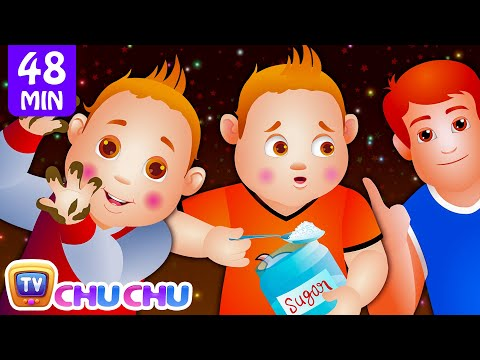 ChuChu TV Nursery Rhymes - US Version Vol.2  Johny Johny Yes Papa Part 1, Part 2  More Kids Songs