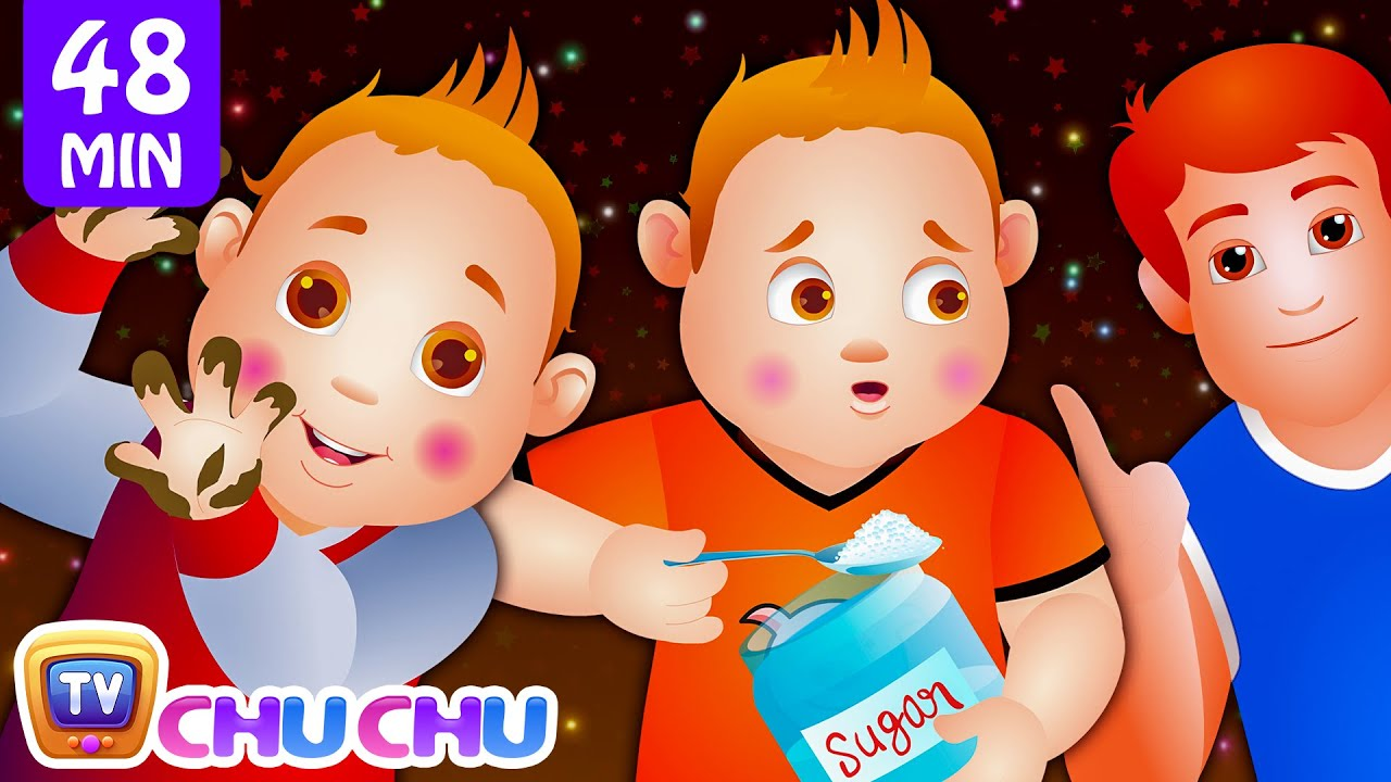 ChuChu TV Nursery Rhymes - US Version Vol.2 | Johny Johny Yes Papa Part 1, Part 2 & More Kids So