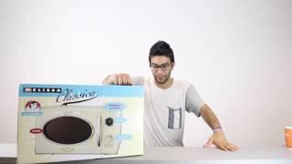 Melissa | 900 Watt Mikrowelle Classico in creme (Unboxing) | test.net