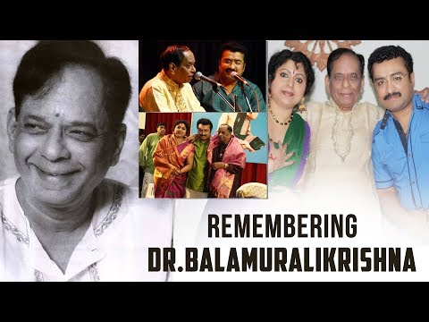 A Tribute to Dr. M. Balamuralikrishna |Nee Naamamu by Dr. K Krishnakumar & Binni Krishnakumar