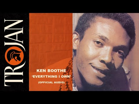 Ken Boothe - Everything I Own (Official Audio)