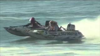 Mosselbay SAIBA Surf National 2012 - Thundercat Inflatable Power Boat Racing
