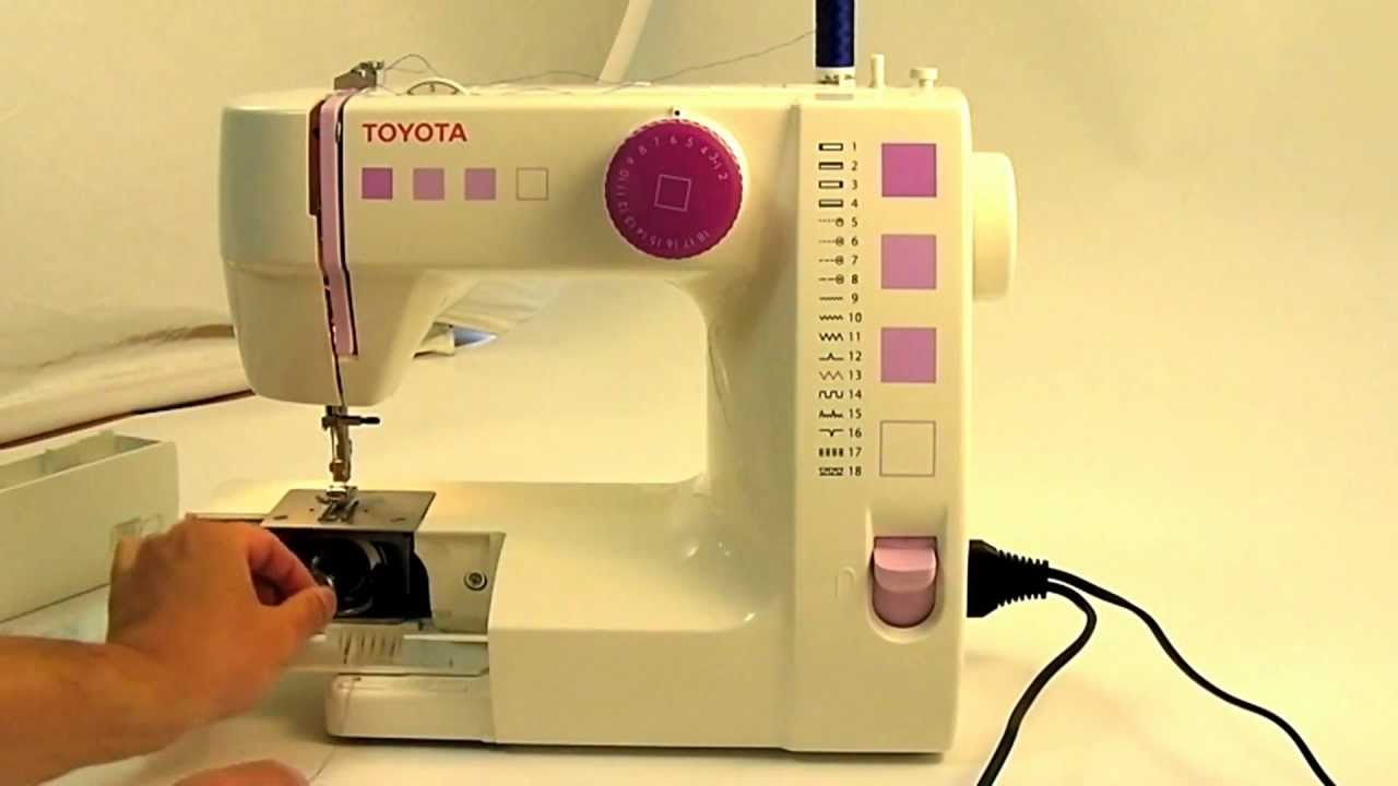 toyota sewing machine rs2000 series start sewing in 2min30s easy sewing youtube. Black Bedroom Furniture Sets. Home Design Ideas