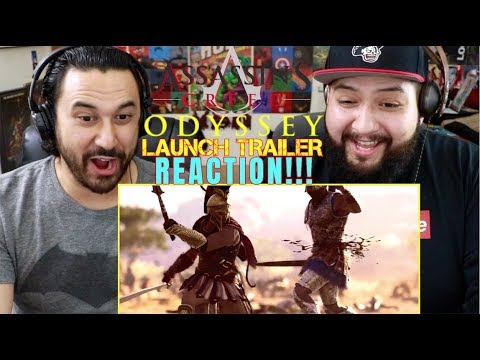 ASSASSIN'S CREED ODYSSEY: Launch TRAILER - REACTION!!!