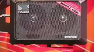 Sweetwater - Roland MOBILE CUBE Amplifier Summer NAMM Demo