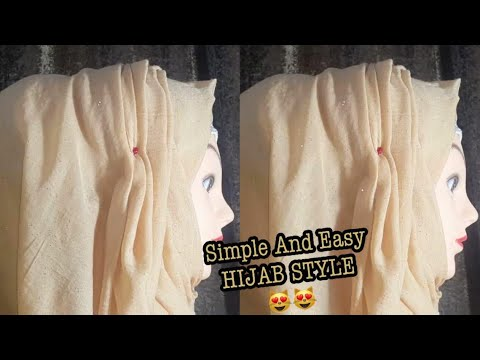 How To Wear Hijab Scarf With Inner Cap Hijab Tutorial 2020 Hijab Styles 2020 Easy And Simple Hijab Youtube