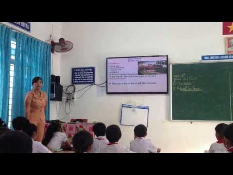 Dạy chuyên đề môn Tiếng Anh trường THCS Suối Ngô