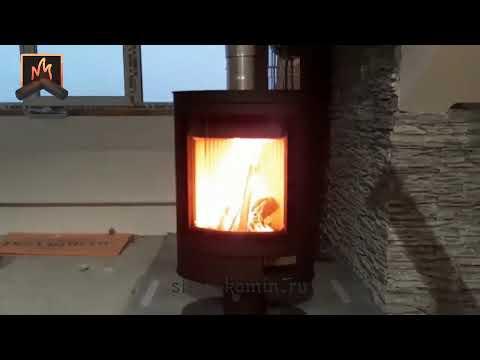 Купить отопительную печь Romotop Stromboli N для дома - недорогую в стиле HiTech: монтаж под ключ