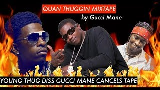 Rich Homie Quan ANGRY Young Thug DISSED Gucci Mane Million Dollar Offer for a Joint Mixtape