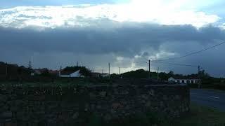 Pico Açores(Tempestade tropical Helene)