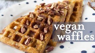 Vegan Buttermilk Waffles | Vegan Soul Food