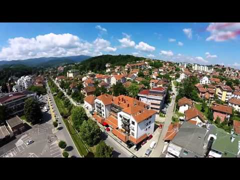 VRNJACKA BANJA: Quad and GoPro - Over The City Rooftops