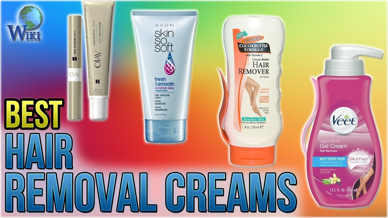 7 Best Hair Removal Creams 2018 Youtube