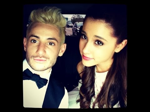 Ariana Grande & Frankie have the best sibling relationship ever .Cute Moments