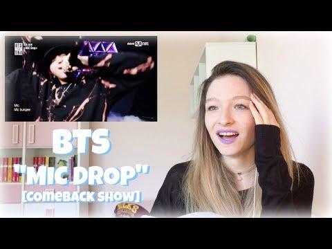 "BTS ""Mic Drop"" [MNET Comeback Show] REACTION | Lili White"