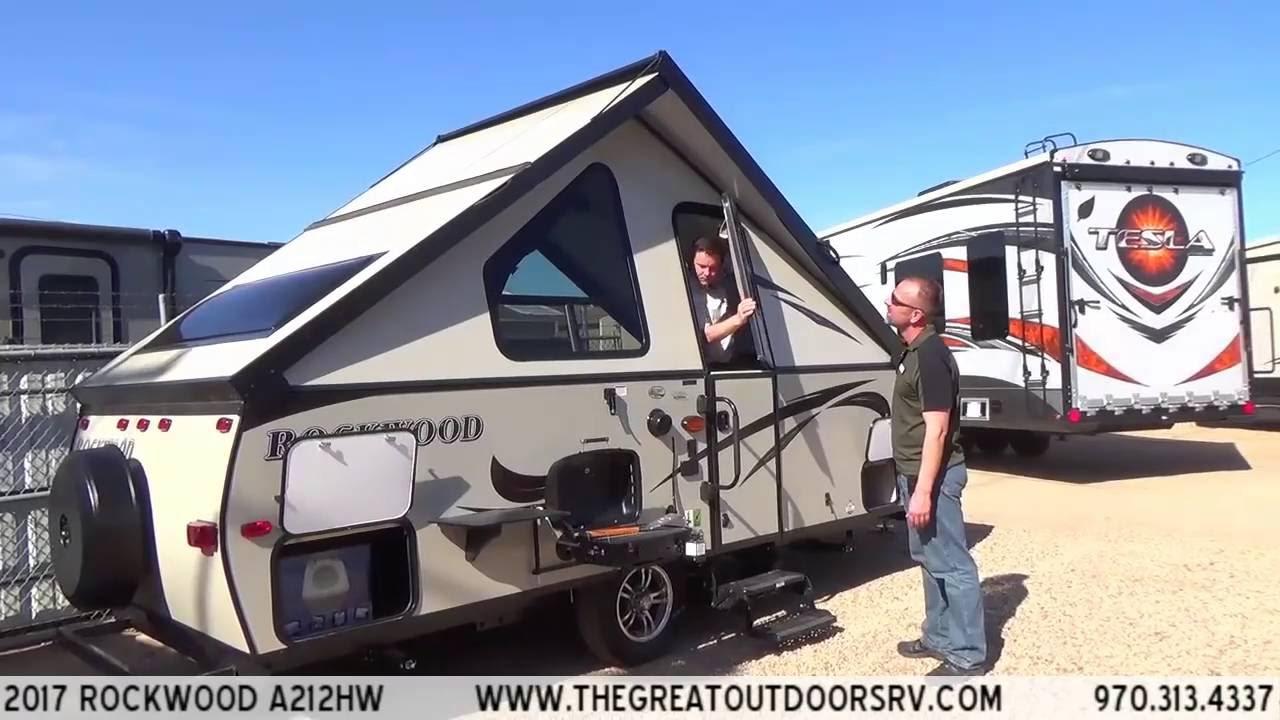 2017 Rockwood A212hw R922 Youtube