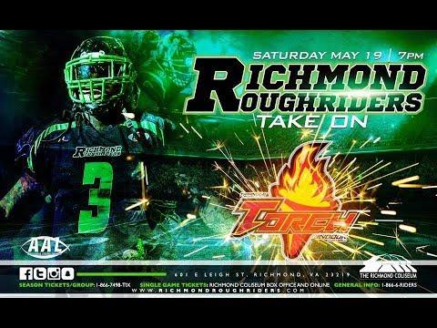 Triangle Torch Vs Richmond RoughRiders