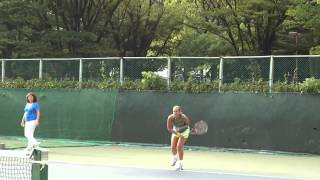 Sabine Lisicki Serve Slow Motion