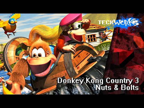 Donkey Kong Country 3: Nuts & Bolts [teckworks cover]