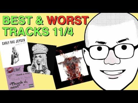 Weekly Track Roundup: 11/4 (Carly Rae Jepsen, Slipknot, Ariana Grande, Poppy)