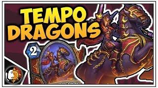 Hearthstone: Wild Tempo Dragon Warrior - Rise Of Shadows