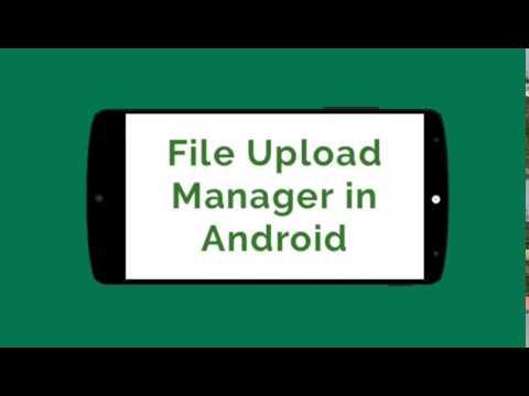 File Upload Manager - Upload file to Server with