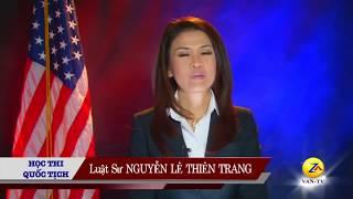 100 Câu Tiếng Anh phỏng vấn thi quốc tịch Mỹ