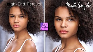High-End Skin Retouching WITHOUT PHOTOSHOP!
