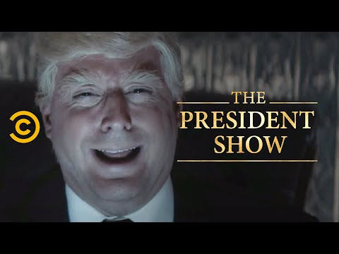 Inside the President's Mind - The President Show - Comedy Central