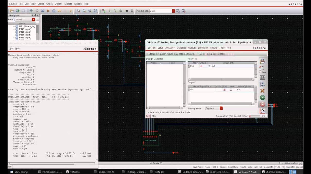 Verilog-A: 8bit Piepeline ADC Part-2