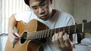 Happy Birthday Song in Fingerstyle Guitar by Sontaya