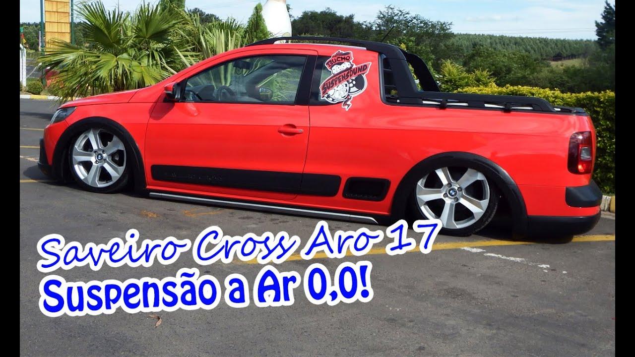 Saveiro Cross Aro 17 Roda Bmw X6 Suspens 227 O A Ar