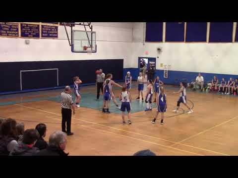 Gilford Middle School Girls vs Franklin 1/16/19