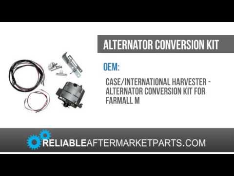 new farmall ih tractor model m alternator conversion kit. Black Bedroom Furniture Sets. Home Design Ideas