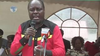 Embu leaders call for unity during Mashujaa Day