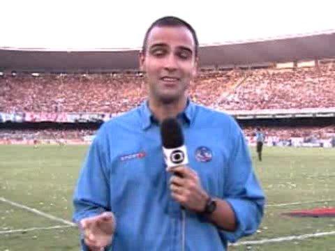 Final da Taça Rio 2005 - Reportagem do Tadeu Schimdt